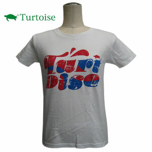 DM便 訳あり Turtoise タータス 半袖Tシャツ COLON 女 White/M