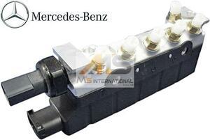 【M's】W220 ベンツ AMG Sクラス(1998y-2005y)純正品 エアサス バルブブロック//BENZ 正規品 S320 S350 S430 S500 220-320-0258