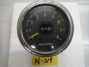 N219   Auto   Meter    Подвесной лодочный мотор  использование?     осьминог  метр     бывший в употреблении товар
