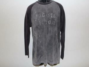 サディスティックアクション SADISTIC ACTION メンズ長袖Tシャツ Mサイズ 新品 NO4