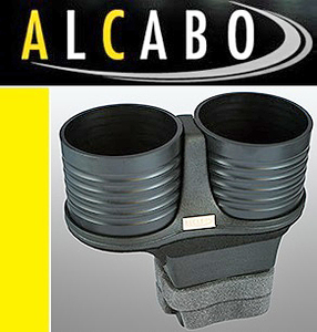 【M's】ベントレー コンチネンタルGT/フライングスパー(2003y-2010y)ALCABO 高級 ドリンクホルダー(ブラック)//GTC GTスピード AL-B201B