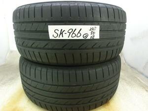 SK-966 中古タイヤ ダンロップ SP SPORT MAXX 245/50R18 (2本)