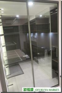 15336# for interior sliding door sliding door glass 1 sheets W720 H2400# exhibition goods