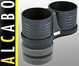 【M's】W219 ベンツ AMG CLSクラス(2005y-2010y)ALCABO 高級 ドリンクホルダー(ブラック)/アルカボ カップホルダー AL-B109B ALB109B
