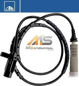 【M's】BMW E88 E87 E82 E81 1シリーズ 116i 118i 120i(04y-11y)ATE製 リア ABSセンサー 1個/純正OEM リヤ 車速センサースピードセンサー