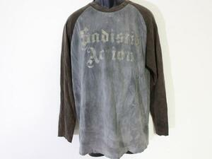 サディスティックアクション SADISTIC ACTION メンズ長袖Tシャツ Mサイズ 新品