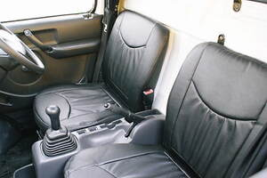 キャリー トラック DA63T シートカバー 黒 ブラック
