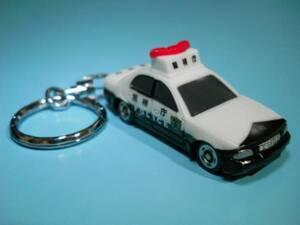 キーホルダー クラウン マジェスタ パトカー 警視庁 POLICE マスコット アクセサリー