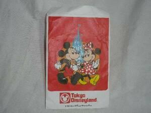 即決 レア TDL 当時物 USEDポチ袋 Disney ミッキーマウス 訳有 コレクション用 東京ディズニーランド
