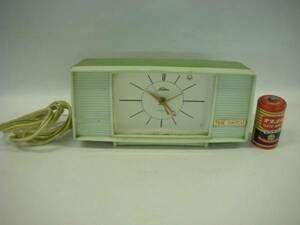 ジャンク品 昭和30年代頃 東芝 タイムスイッチ プラ 置き時計