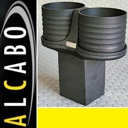 【M's】W463 Gクラス(中期)ALCABO ドリンクホルダー ブラック