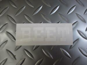 BEETステッカー白★Z400FXZ400GPZ400FZ250FTKHSS