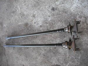 [A284]PA95,G180,117 coupe,5MT, left right drive shaft,832