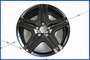 ベンツ Gクラス W463 G65AMG 5スポーク マットブラック アルミホイール/純正品 1台分 20インチ ゲレンデ AMG ホイール 新品 正規品 4本