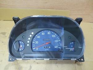 プレオ RV1 スピードメーター 速度計 109847㎞ 69375-250 純正