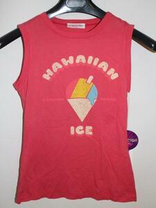 キャメロンハワイ Cameron Hawaii レディースノースリーブTシャツ ピンクSサイズ 新品