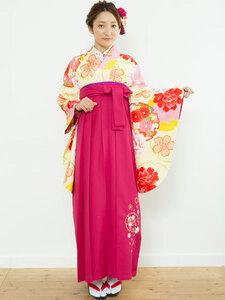着物袴セット ジュニア用へ直し 135cm~143cm 夢千代 新品(株)安田屋 NO23031
