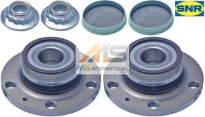 【M's】VW POLO ポロ(6R/6C/9A/9N)SNR製・他 リア ホイール ハブベアリング 2個(左右)/フォルクスワーゲン 純正OEM 6Q0-598-611 6Q0598611