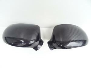BMW real carbon door mirror cover E46 M3 Hamann MTech M for side black carbon mirror cover