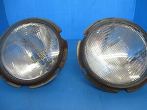 ジムニーJA22W ヘッドライト左右セット(玉替えタイプ)中古品