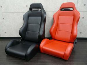 Recaro SRⅢ? type reclining seat leather? RS5 black red