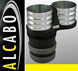 【M's】W222 W217 R217 ベンツ AMG Sクラス(2013y-)ALCABO 高級 ドリンクホルダー(シルバー)//アルカボ カップホルダー AL-M315S ALM315S