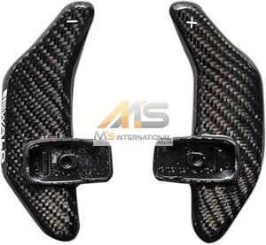【M's】W222 W217 Sクラス/R231 SLクラス WALD カーボンパドルシフト(左右/1SET)//受注生産 社外品 パドル ヴァルド バルド ベンツ AMG