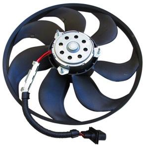 VW ボーラ ゴルフ4 ラジエーター電動ファン ラジエター電動ファン ブロアーファン ブロワーファン 1J0-959-455S(345mm)