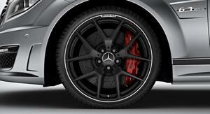 W204 C63AMG エディション507 マットブラック AMGホイール/純正