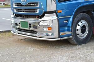 新品 前型 UD クオン バンパー,ステップガード ステンレス 国産