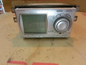 ekワゴン H81W 2DINオーディオ CD MD AM FM ラジオ KENWOOD DPX-7021MPi 社外