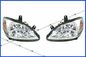 ベンツ Vクラス W639 ハロゲンヘッドライト / HELLA製 純正OEM 左右セット 新品 V350 ハロゲンヘッドランプ 左側通行用 日本仕様光軸