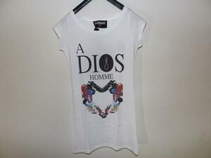 SUNDAY21 レディースオーバーTシャツ ホワイトSサイズ イタリア製