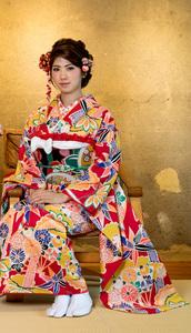 振袖・帯・襦袢3点セット和遊日wayu-bi 成人式 新品(株)安田屋