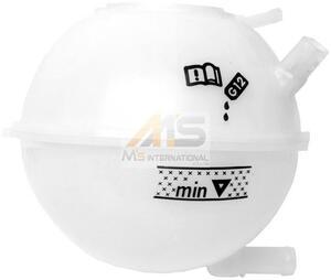 【M's】VW ゴルフ4(1J) ボーラ(1J) ニュービートル(9C/1Y)純正品 ラジエター サブタンク//正規品 エクスパンションタンク 1J0-121-407F