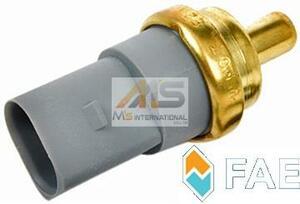 【M's】AUDI A2(8Z)A3(8L/8P)A4(8E/8H)A5(8T)A6(4B/4F)A7(4G)A8(4E)Q7(4L)R8(4S/42C)TT(8J) FAE 水温センサー/テンプセンサー 06A919501A