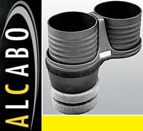 【M's】アウディ A7/S7/RS7 4G(2011y-)ALCABO ドリンクホルダー(ブラック カップタイプ)/社外 AUDI アルカボ カップホルダー AL-M313B