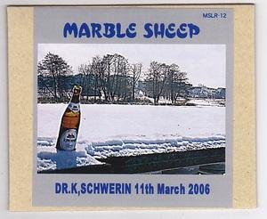CD-R/MARBLE SHEEP / DR.K,SCHWERIN 11th March 2006