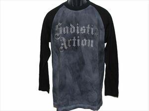 サディスティックアクション Sadistic Action メンズ長袖Tシャツ Mサイズ NO10 新品