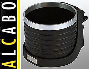 【M's】W219 CLSクラス(05y-10y)ALCABO 高級 ドリンクホルダー(BK+リング)//左H/運転席側 右H/助手席側 ベンツ AMG アルカボ AL-M304BS